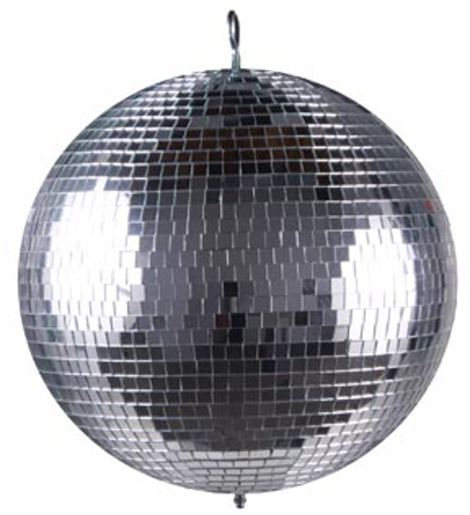 "Picture of AMERICAN DJ MIRROR BALL 12"" MODEL # M-1212"