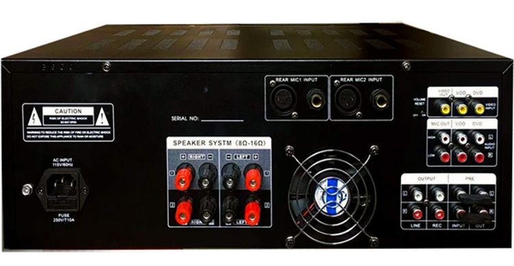 Picture of IDOLpro IP-3600 Professional Digital Echo Mixing Amplifier With Bluetooth & Recording NEW 2019