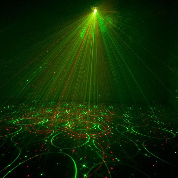 Picture of AMERICAN DJ MINI DEKKER LZR LED AND LAZER LIGHT